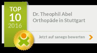 Siegel von Dr. med. Theophil Abel