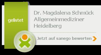 Siegel von Dr. med. Magdalena Schmück