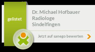 Siegel von Dr. med. Michael Hofbauer