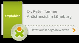 Dr. med. Dipl. Biol. Peter Tamme, von sanego empfohlen