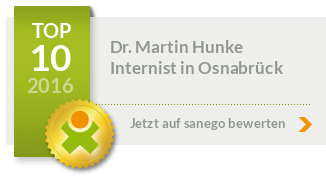 Siegel von Dr. med. Martin Hunke