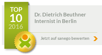 Siegel von Dr. med. Dietrich Beuthner
