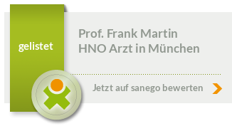 Siegel von Prof. Dr. Dr. med. Frank Martin