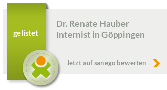 Siegel von Dr. med. Renate Hauber