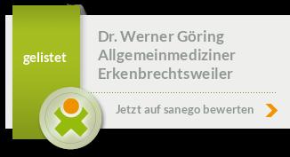 Siegel von Dr. Werner Göring