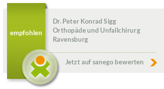 Siegel von Dr. med. Peter Konrad Sigg