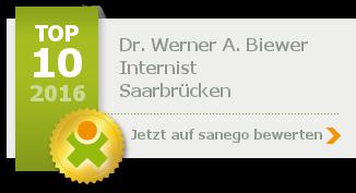 Dr. med. Werner A. Biewer, von sanego empfohlen