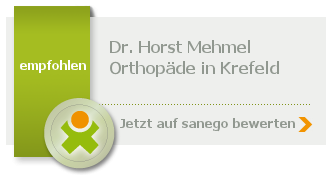 Siegel von Dr. med. Horst Mehmel