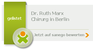 Siegel von Dr. med. Ruth Marx