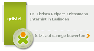 Siegel von Dr. med. Christa Reipert-Kriessmann