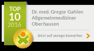 Dr. med. Gregor Gahlen, von sanego empfohlen
