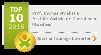 Siegel von Prof. Thomas Proebstle