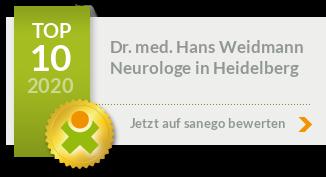 Siegel von Dr. med. Hans Weidmann
