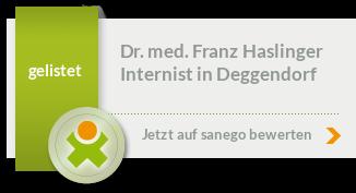 Siegel von Dr. med. Franz Haslinger