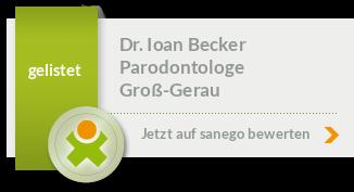 Siegel von Dr. Ioan Becker