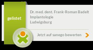 Siegel von Dr. med. dent. Frank-Roman Badelt