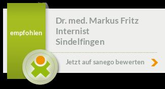 Siegel von Dr. med. Markus Fritz