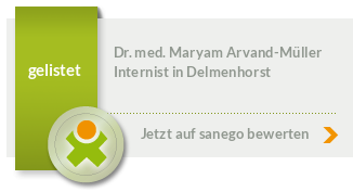 Siegel von Dr. med. Maryam Arvand-Müller