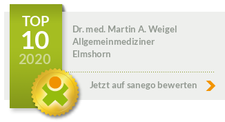 Dr. med. Martin A. Weigel, von sanego empfohlen