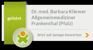 Siegel von Dr. med. Barbara Kliewer