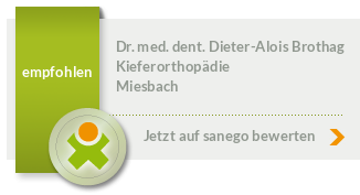 Siegel von Dr. med. dent. Dieter-Alois Brothag