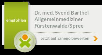 Siegel von Dr. med. Svend Barthel