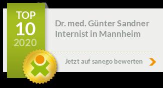 Siegel von Dr. med. Günter Sandner