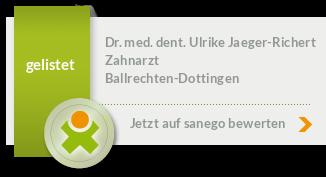 Siegel von Dr. med. dent. Ulrike Jaeger-Richert