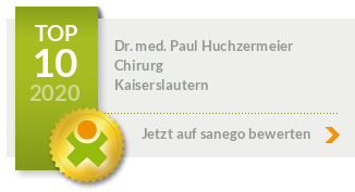 Siegel von Dr. med. Paul Huchzermeier