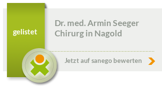 Siegel von Dr. med. Armin Seeger