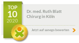 Siegel von Dr. med. Ruth Blatt