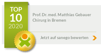 Siegel von Prof. Dr. med. Matthias Gebauer