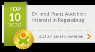 Siegel von Dr. med. Franz Audebert