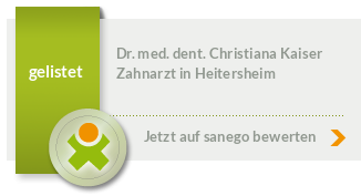 Siegel von Dr. med. dent. Christiana Kaiser