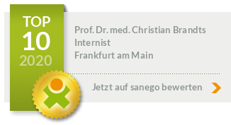 Siegel von Prof. Dr. med. Christian Brandts