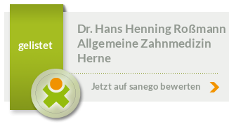 Siegel von Dr. Hans Henning Roßmann
