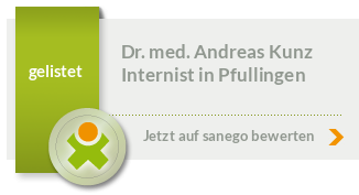 Siegel von Dr. med. Andreas Kunz