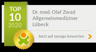 Siegel von Dr. med. Olaf Zwad