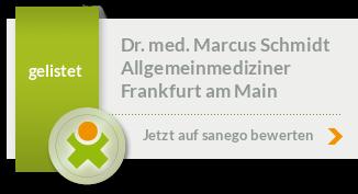 Siegel von Dr. med. Marcus Schmidt