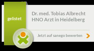 Siegel von Dr. med. Tobias Albrecht