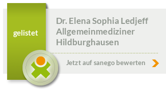 Siegel von Dr. Elena Sophia Ledjeff