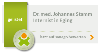 Dr. med. Johannes Stamm, von sanego empfohlen