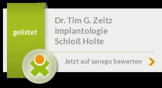 Siegel von Dr. Tim G. Zeitz