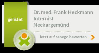 Siegel von Dr. med. Frank Heckmann