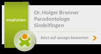 Siegel von Dr. Holger Brenner