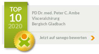Siegel von PD Dr. med. Peter C. Ambe