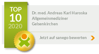 Siegel von Dr. med. Andreas Karl Haroska