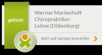 Siegel von Werner Marienhoff