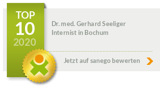 Siegel von Dr. med. Gerhard Seeliger