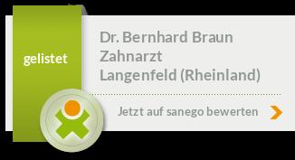 Siegel von Dr. Bernhard Braun